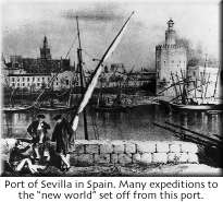 Port of Sevilla, Spain